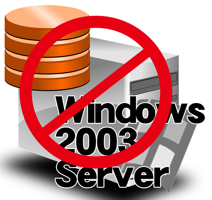 Windows2003serverイメージ